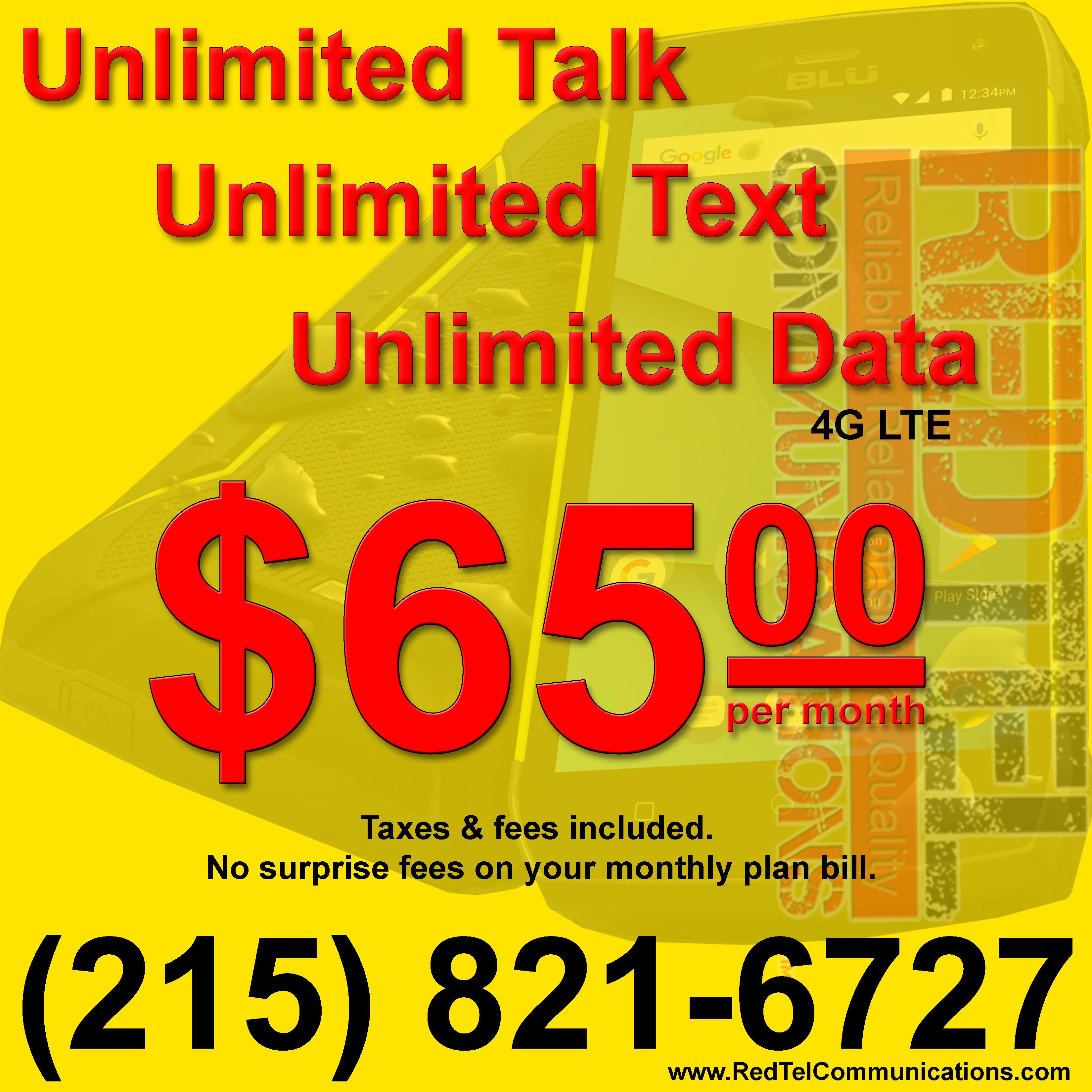 Redtel Unlimited Mobile Phone Plans – RedTel Communications
